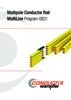 Multipole Conductor Rails Program 0831