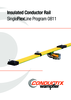 Insulated Conductor Rail SingleFlexLine Program 0811