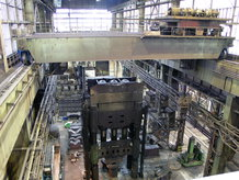 Process-Overhead Crane in a steelwork
