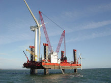 "Offshore ""Jack-up Vessel"" platform"
