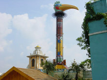 """Topple tower """"El Volador"""""""